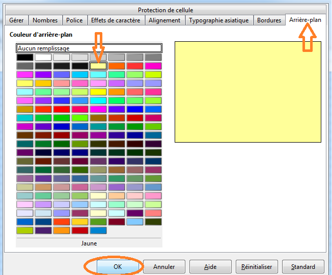 Apprendre utiliser le formatage conditionnel sous libreoffice calc - Arriere plan open office writer ...